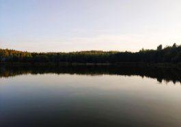 Озеро Косачи - рыбалка Минск