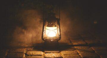 Масляная лампа - Кемпинг Косачи